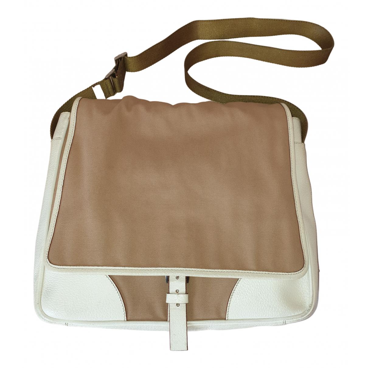 Prada N Beige Cloth bag for Men N