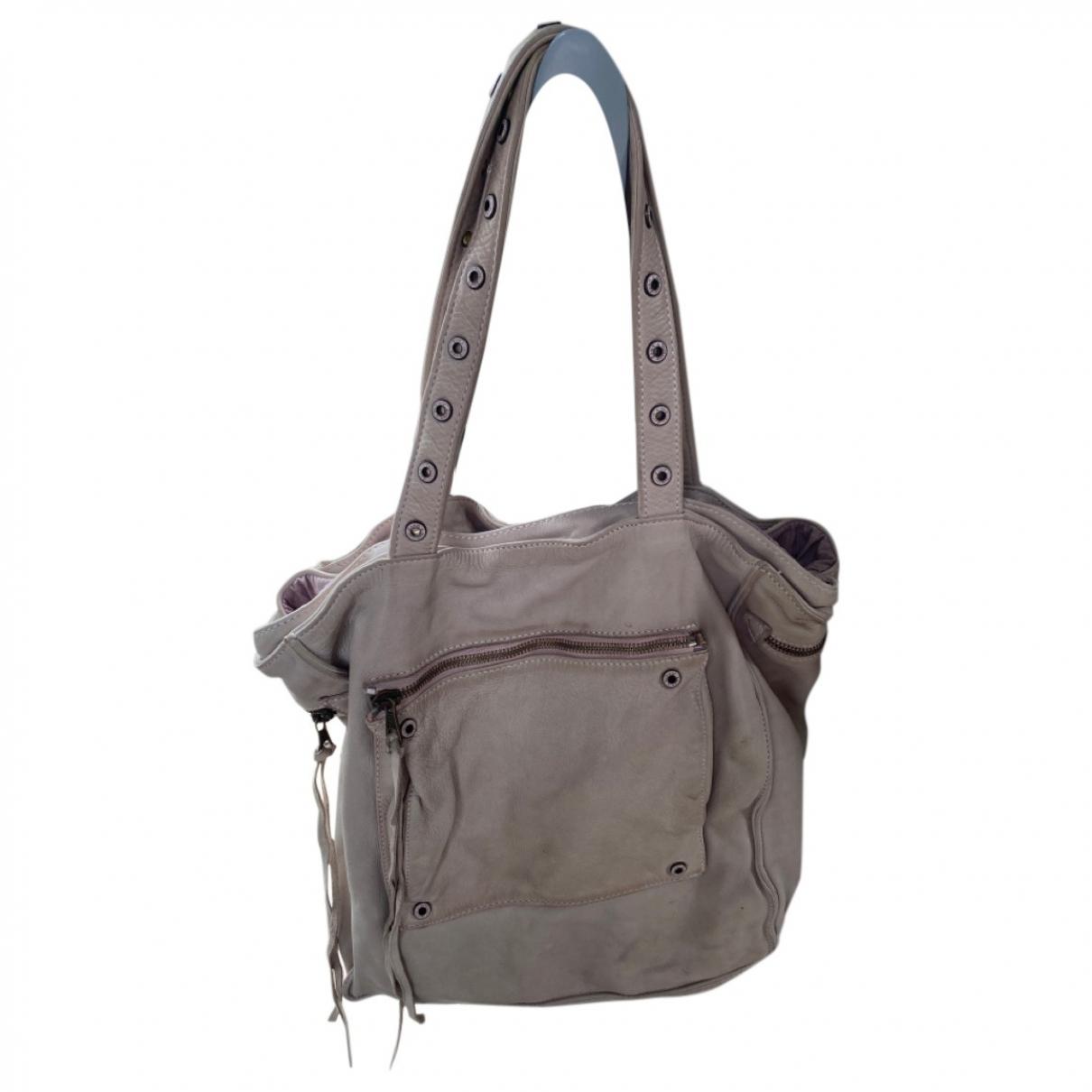 Zadig & Voltaire \N Beige Leather handbag for Women \N