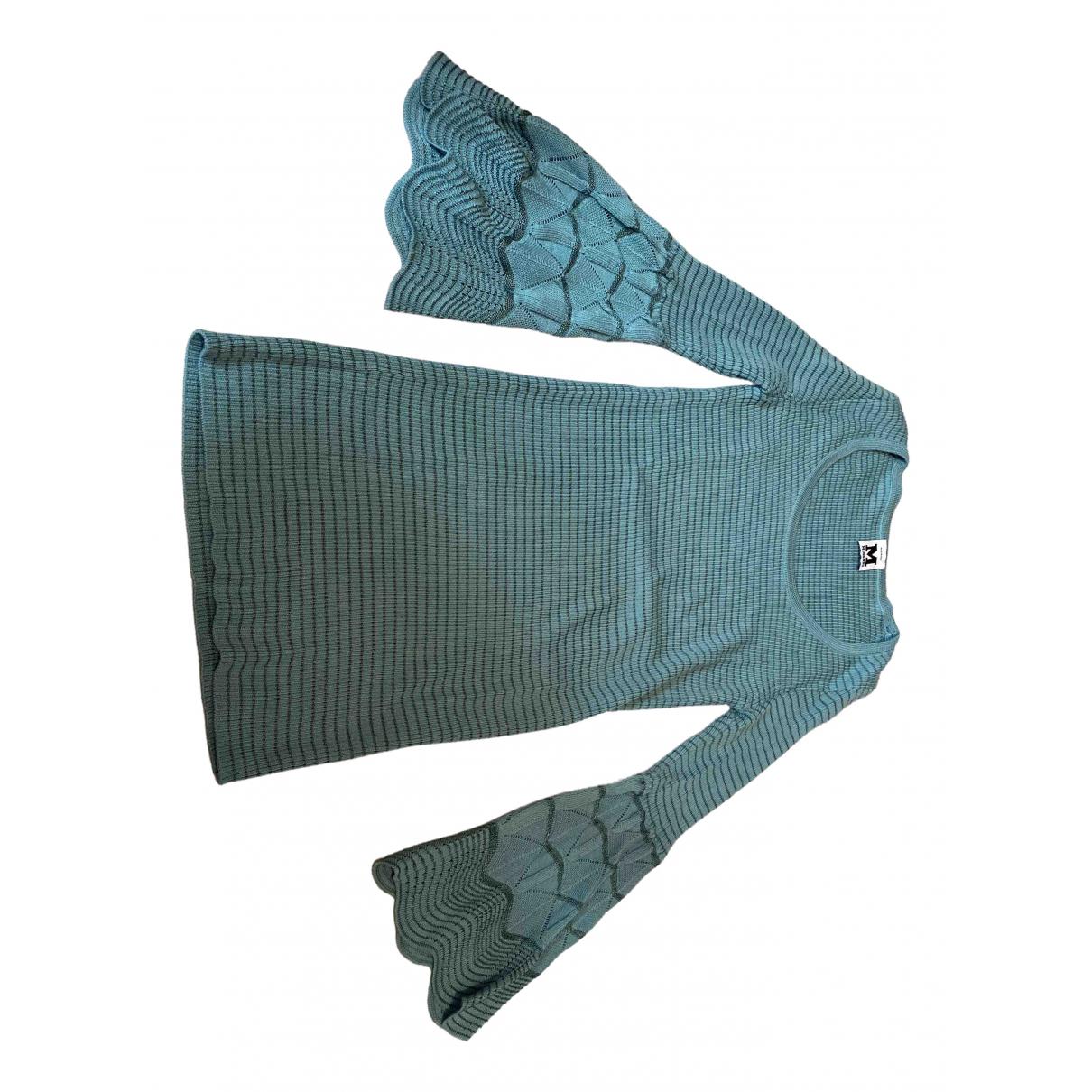 M Missoni \N Blue Wool  top for Women 40 FR