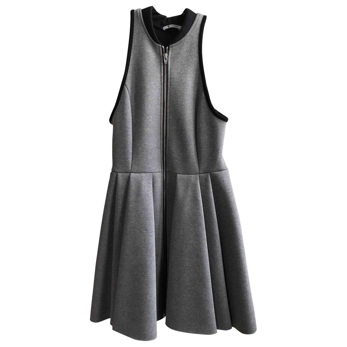T By Alexander Wang \N Grey dress for Women M International