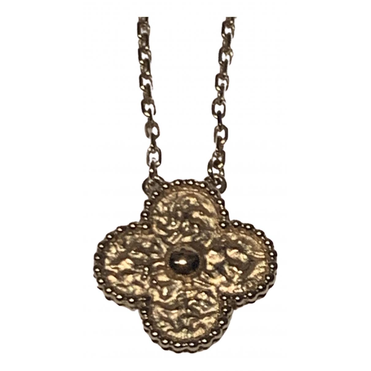 Van Cleef & Arpels Vintage Alhambra Kette in  Gold Rosegold