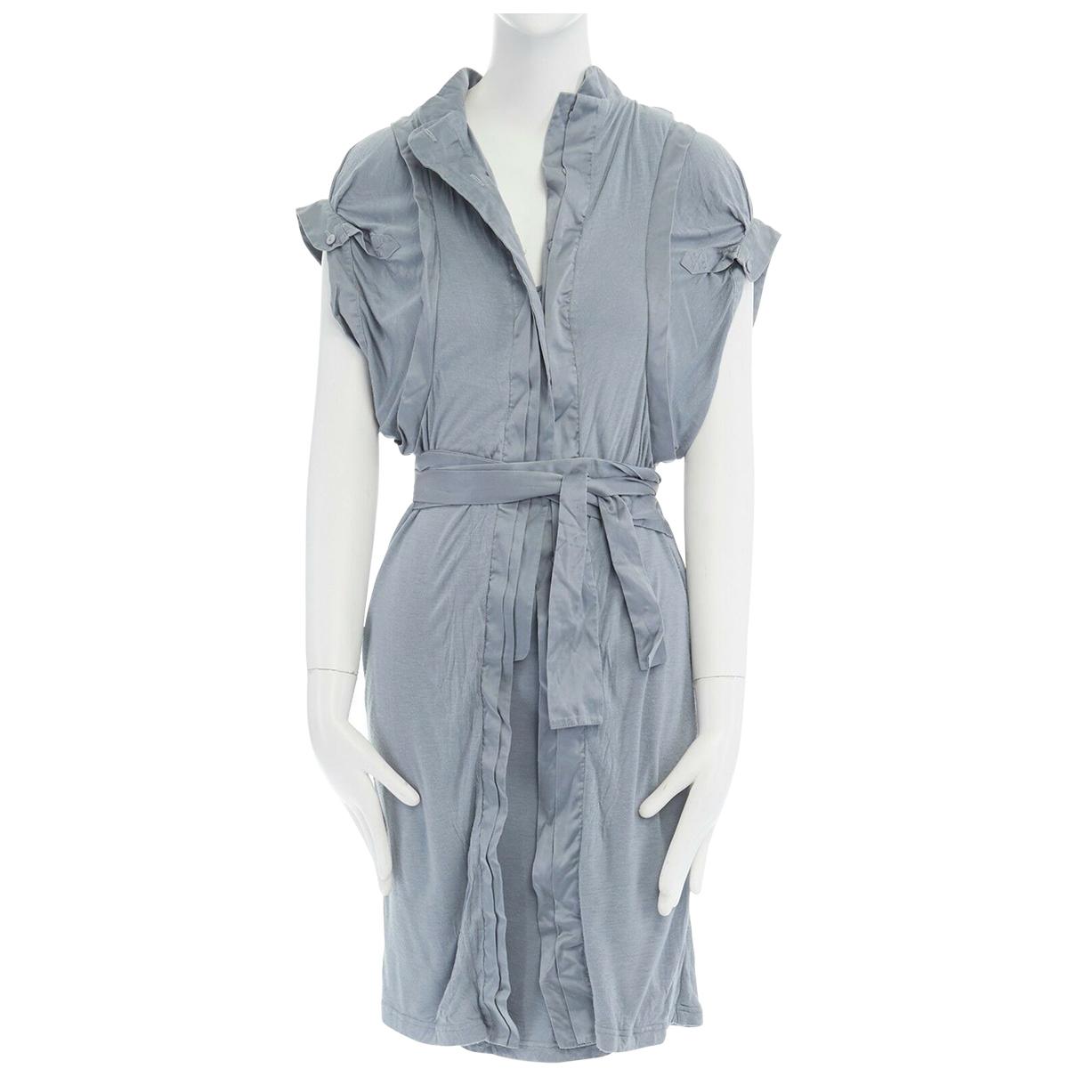 Preen \N Kleid in  Blau Seide