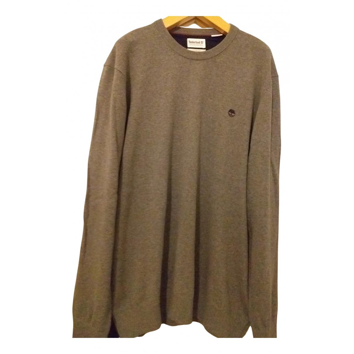 Timberland \N Pullover.Westen.Sweatshirts  in  Grau Wolle