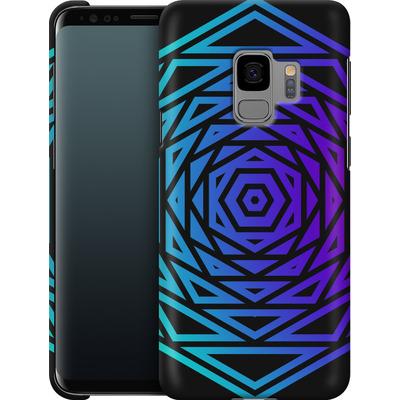 Samsung Galaxy S9 Smartphone Huelle - HEXAGON von Berlin Techno Collective