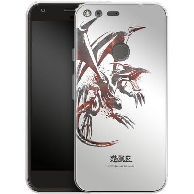 Google Pixel Silikon Handyhuelle - Red-Eyes B. Dragon von Yu-Gi-Oh!