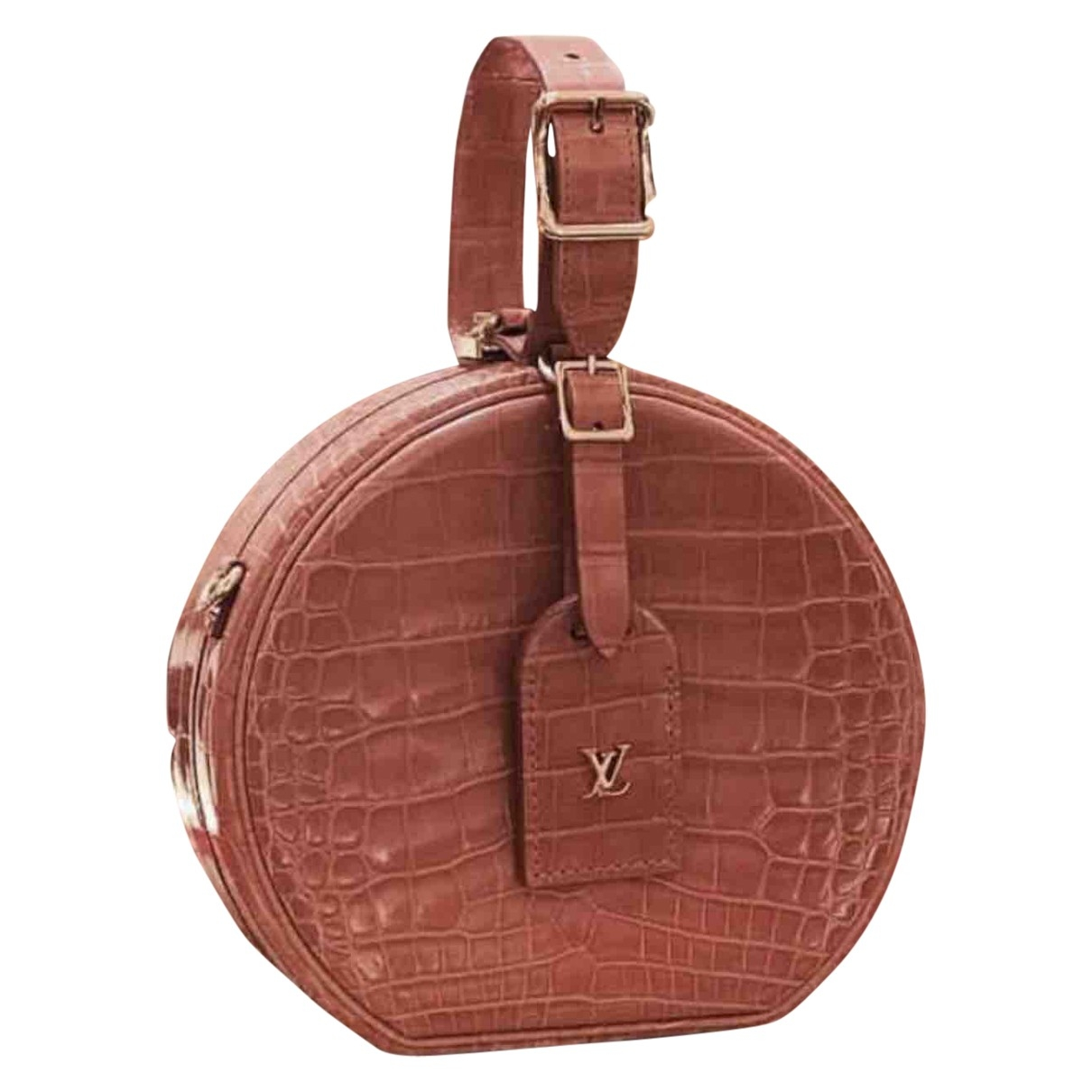 Louis Vuitton Petite Boîte à Chapeau Pink Alligator handbag for Women \N