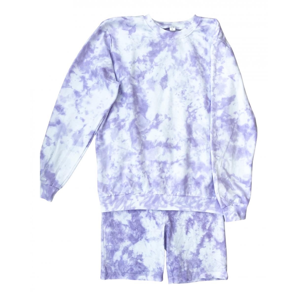 Reckless Minds - Combinaison   pour femme en coton - violet