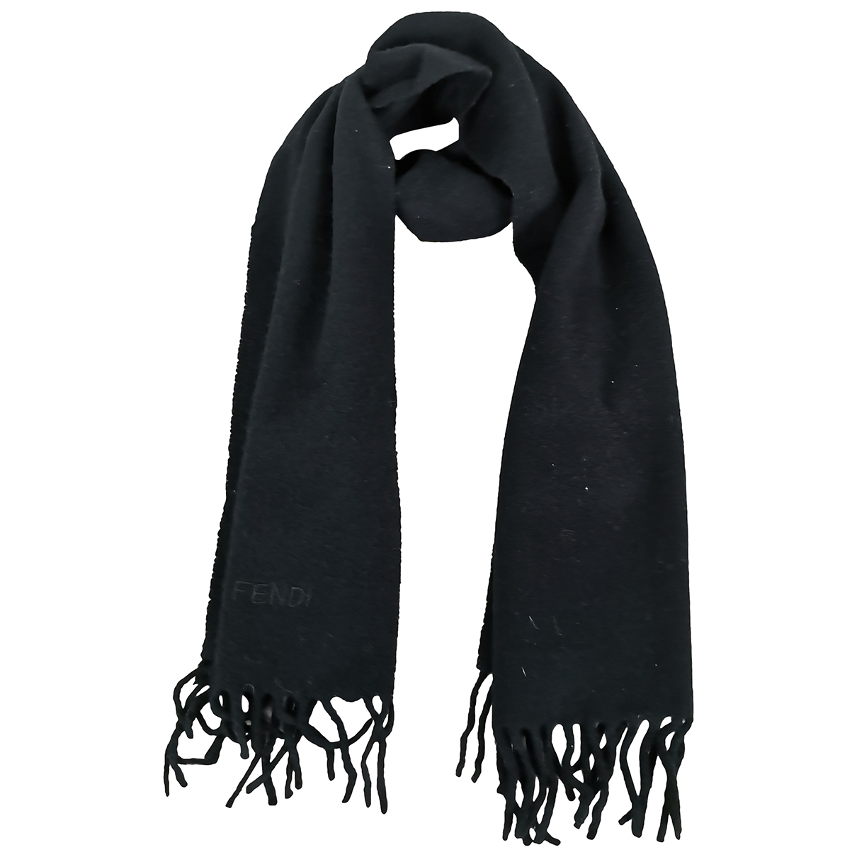 Fendi \N Tuecher, Schal in Wolle