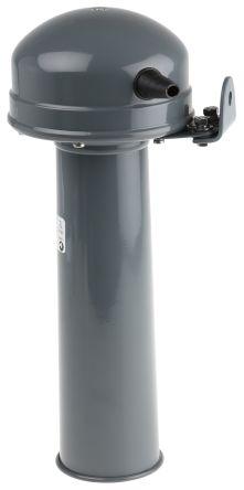 Moflash Grey Signal Horn, 24 V ac/dc, 48 V ac/dc Supply Voltage, 111dB at 1 Metre