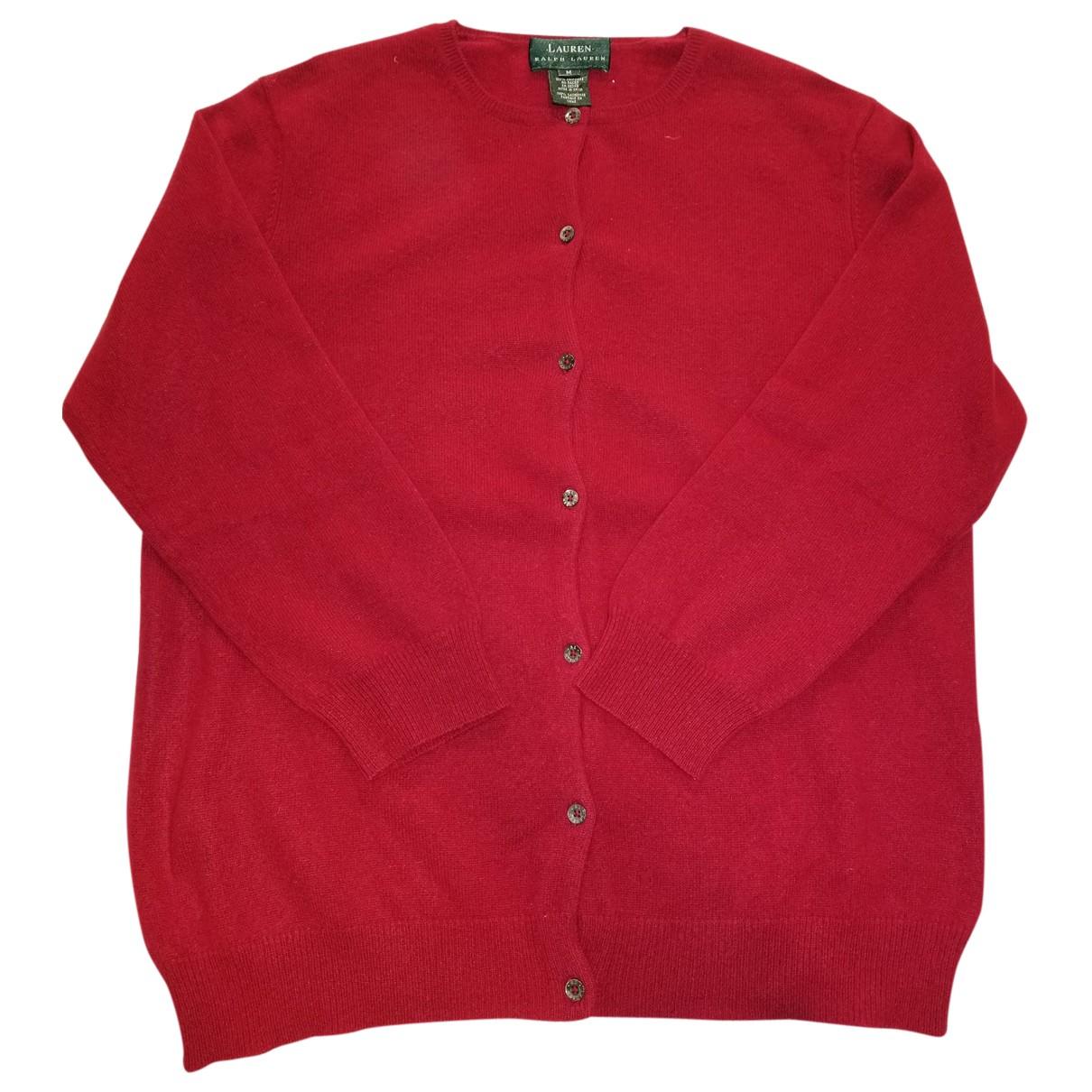 Ralph Lauren - Pull   pour femme en cachemire - rouge