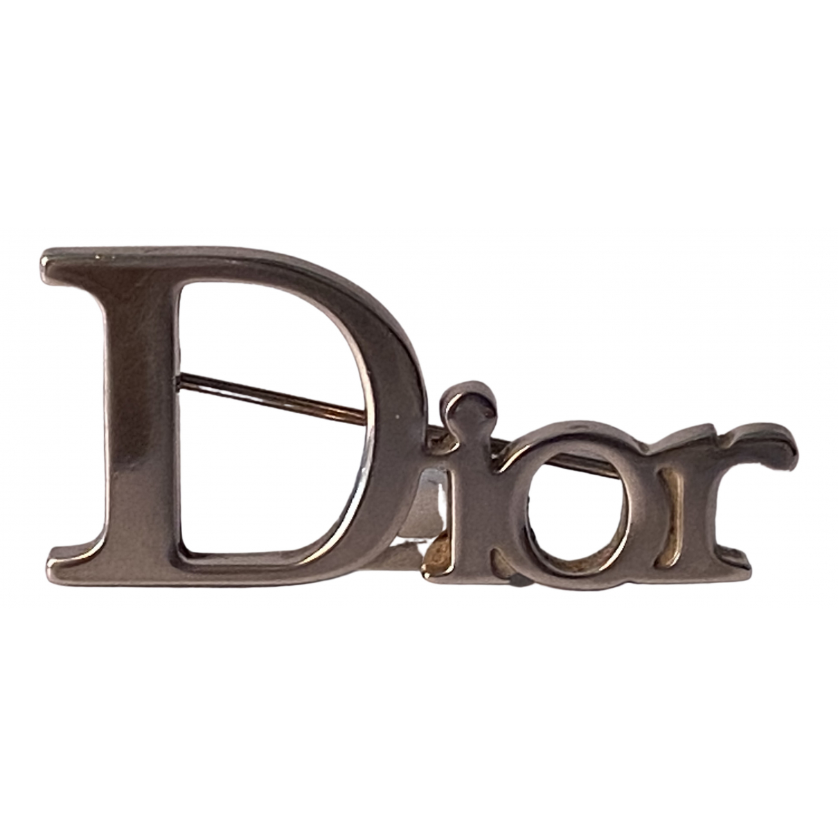 Dior \N Silver Steel Pins & brooches for Women \N