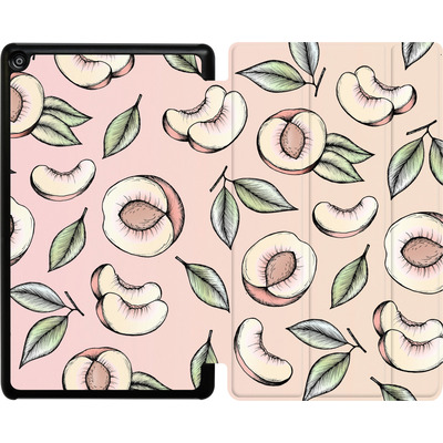 Amazon Fire HD 8 (2017) Tablet Smart Case - Peach Please von Barlena