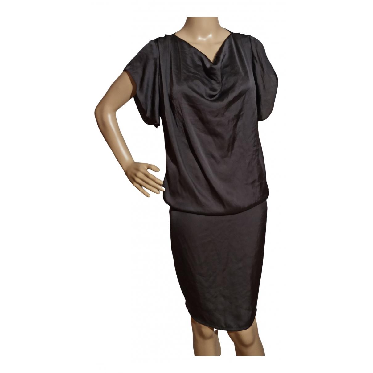 Liu.jo \N Kleid in  Grau Polyester