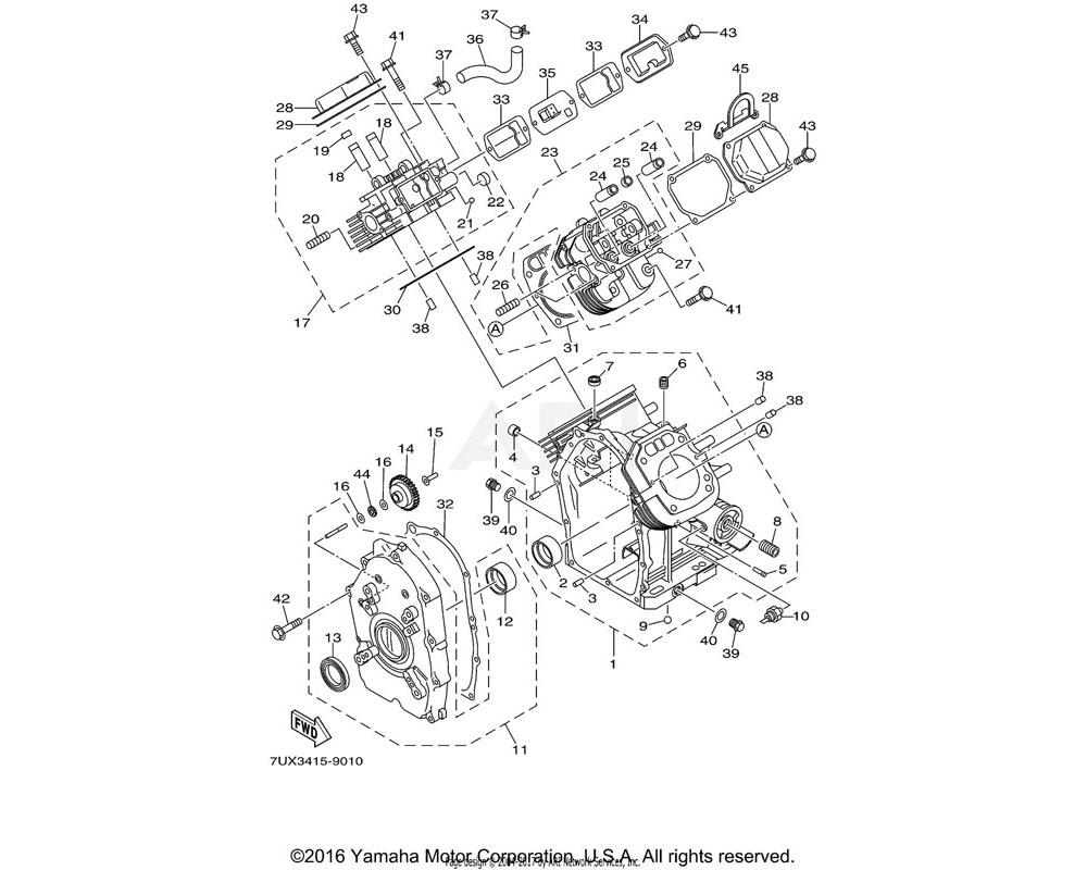 Yamaha OEM YA0-40114-00-30 PLUG