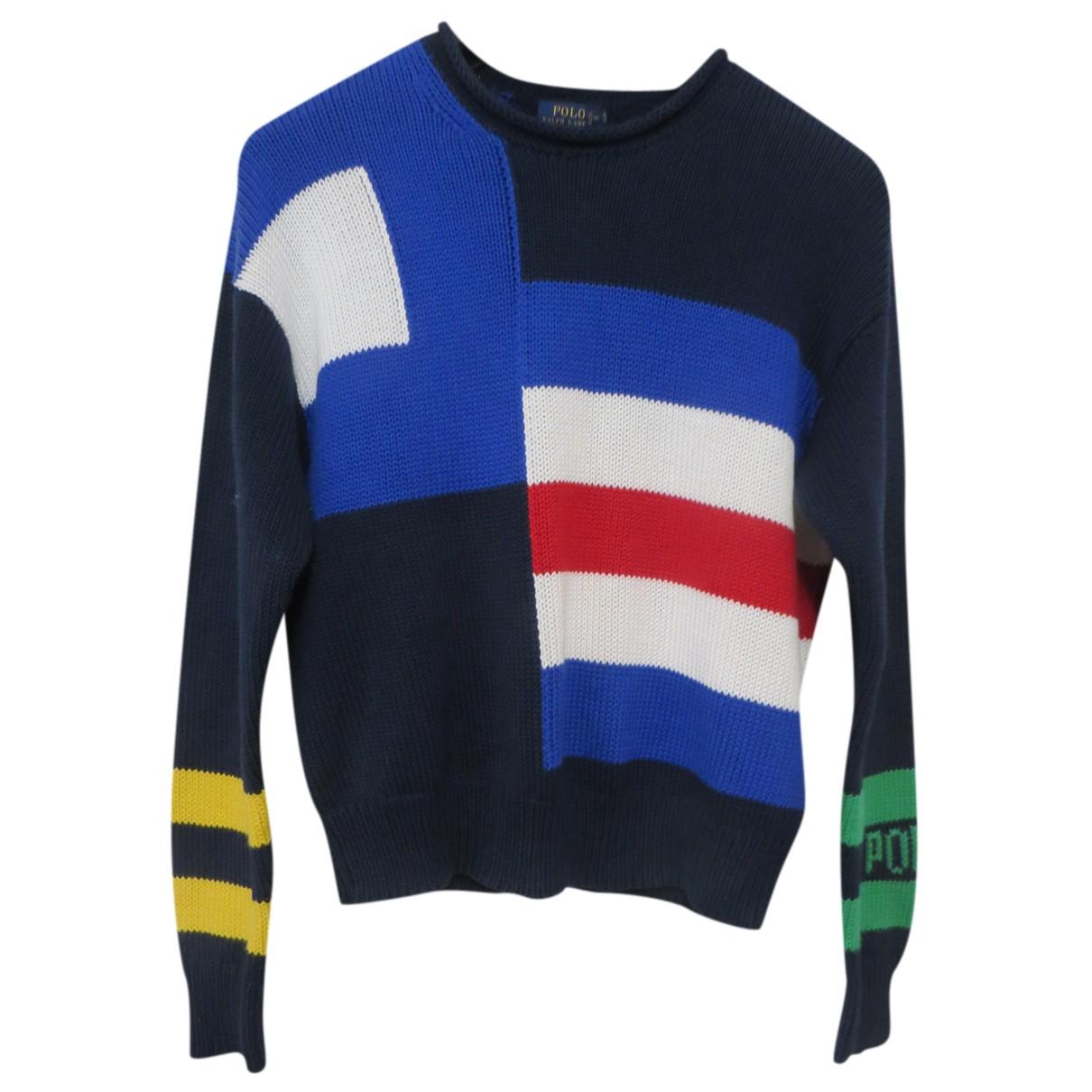 Polo Ralph Lauren - Pull   pour femme en coton - multicolore