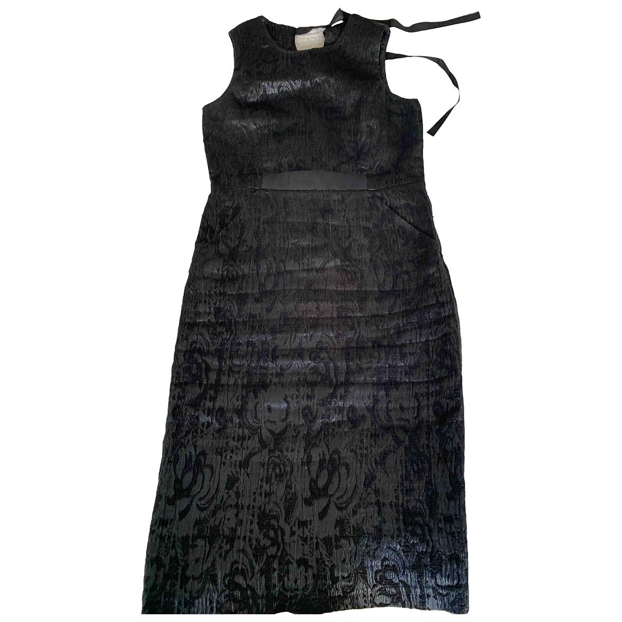 Ports 1961 \N Kleid in  Schwarz Polyester