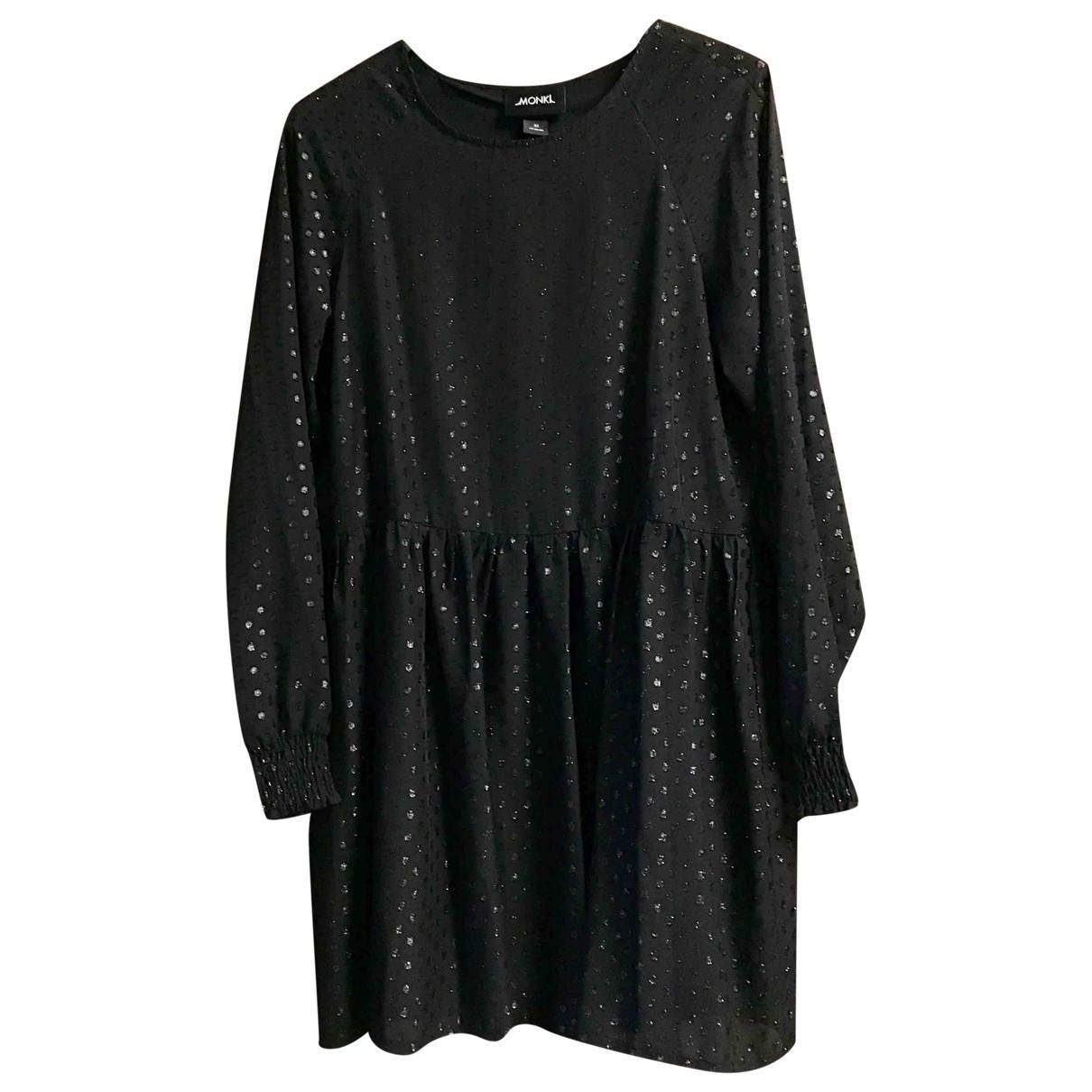 Monki - Robe   pour femme - noir