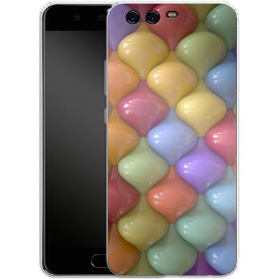 Huawei P10 Silikon Handyhuelle - Oval Pattern von Danny Ivan
