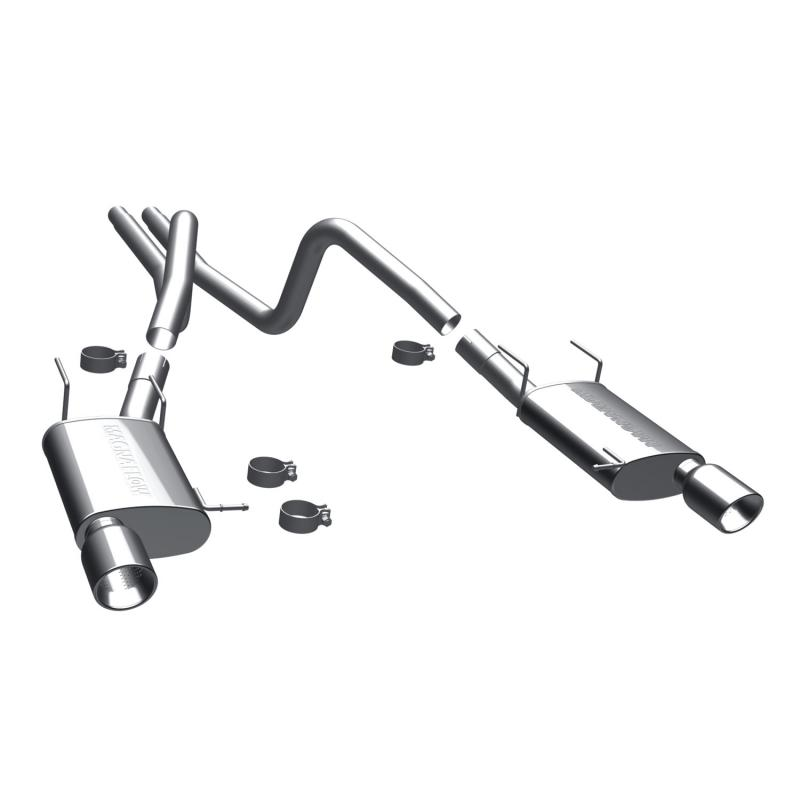 MagnaFlow 15591 Exhaust Products Street Series Stainless Cat-Back System Ford 3.7L V6