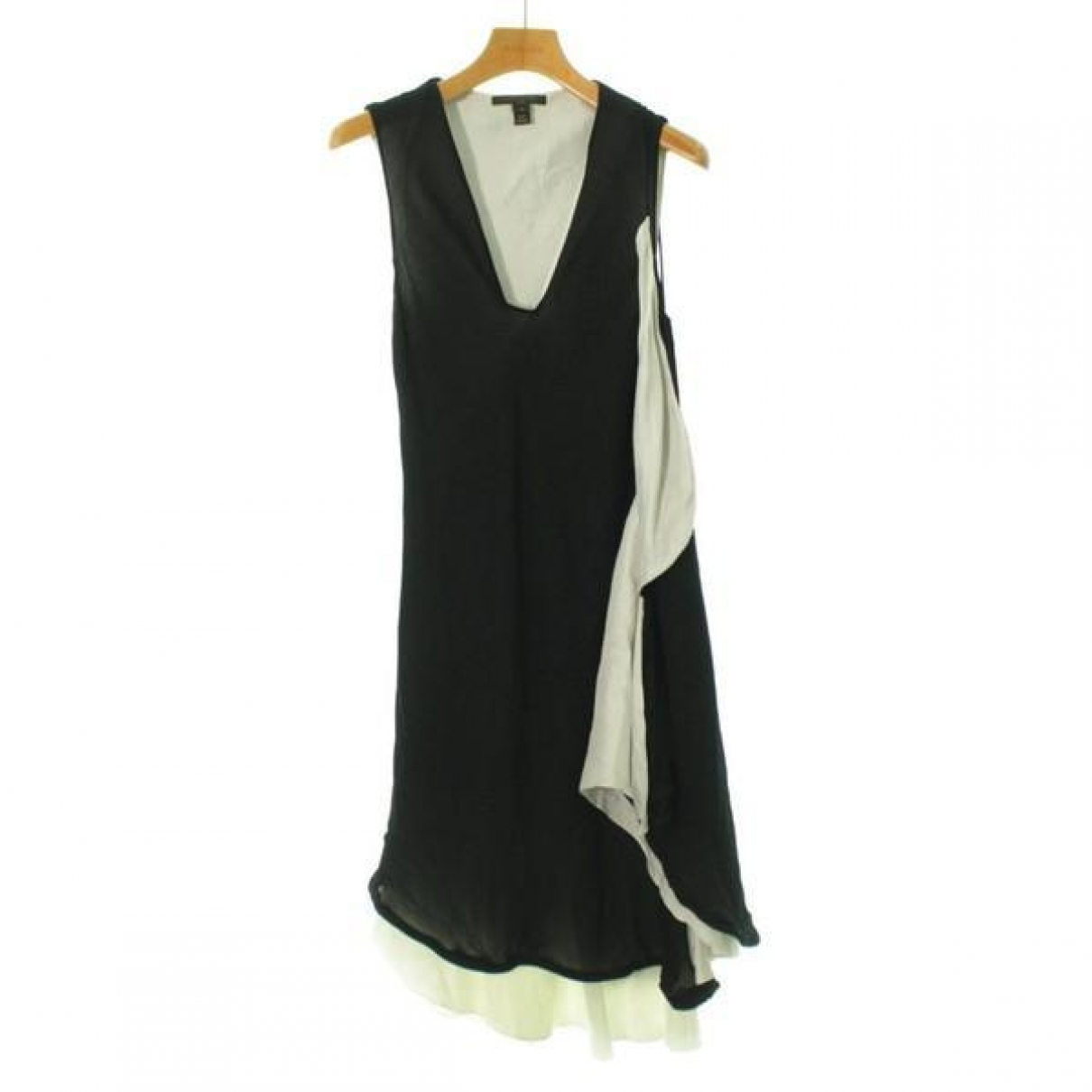 Louis Vuitton \N Black Cotton dress for Women 34 FR