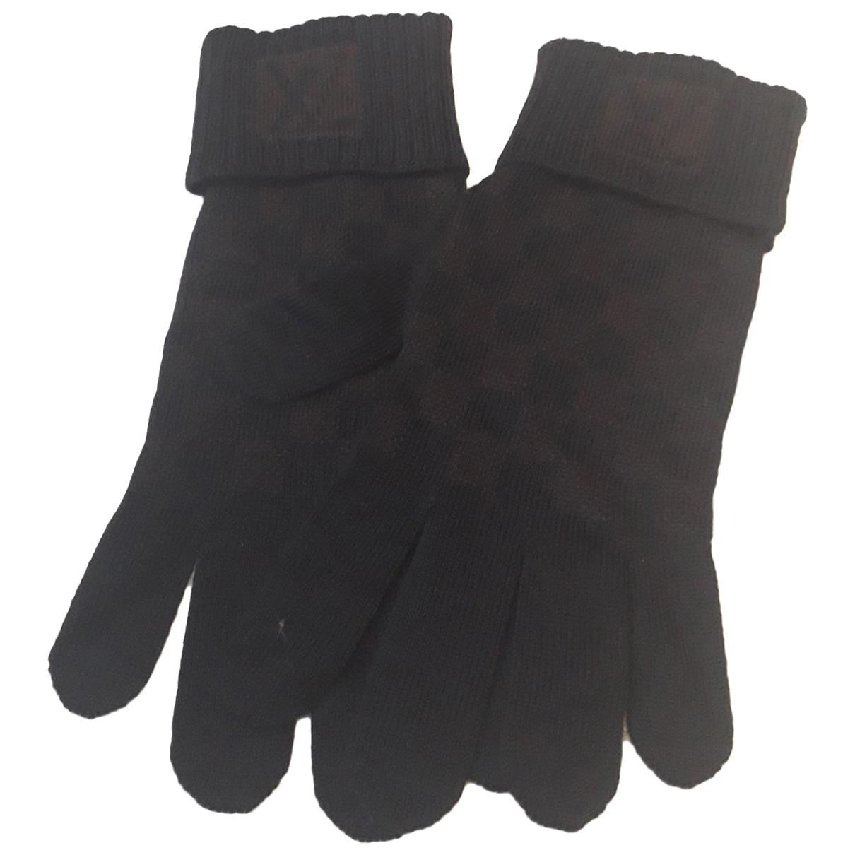 Louis Vuitton \N Handschuhe in  Braun Wolle
