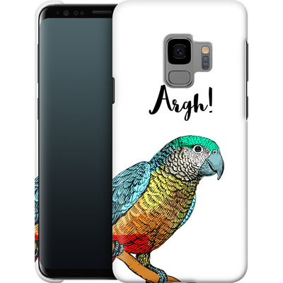 Samsung Galaxy S9 Smartphone Huelle - Parrot Pirate von caseable Designs
