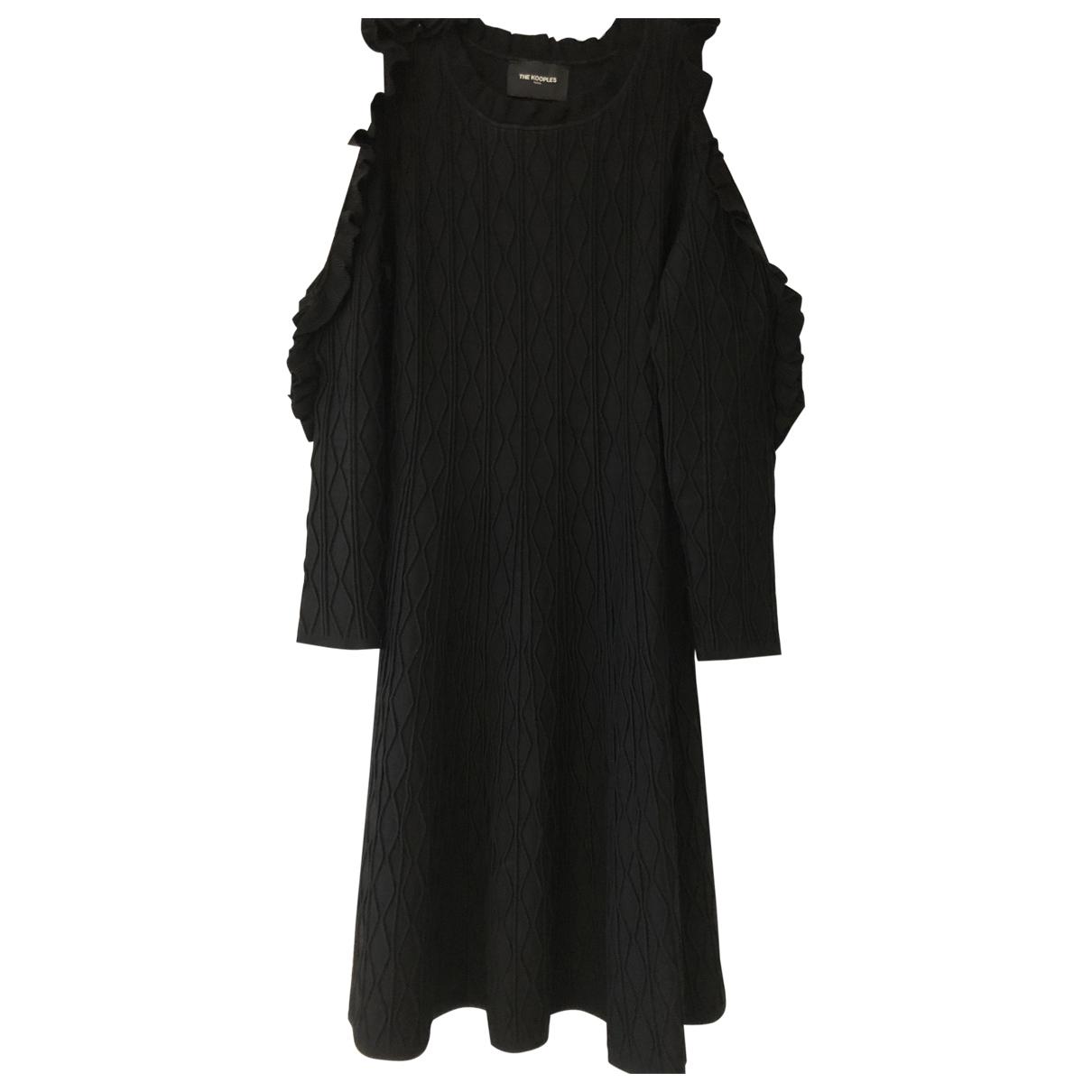 The Kooples - Robe Fall Winter 2019 pour femme - noir