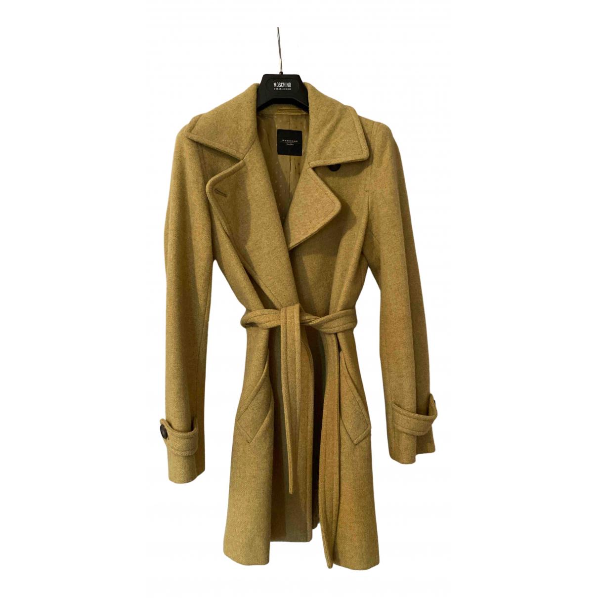 Max Mara Weekend - Manteau   pour femme en laine - vert