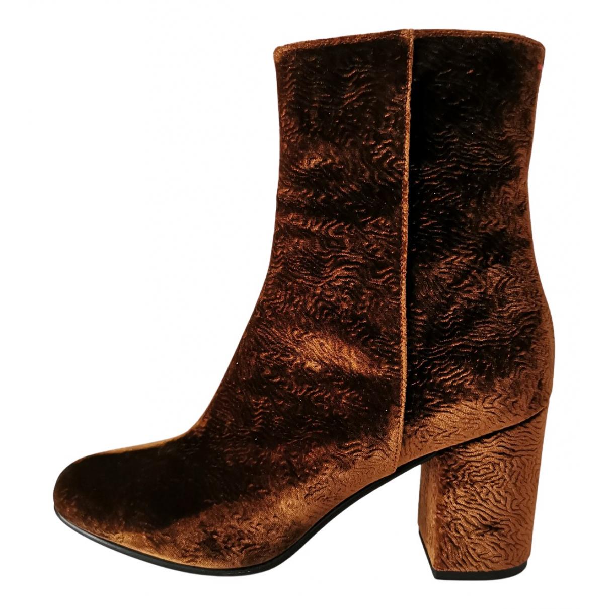 Aeyde - Boots   pour femme - marron