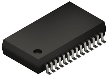 Microchip MCP3912A1-E/SS, Analogue Front End IC, 4-Channel 24 bit, 125ksps SPI, 28-Pin SSOP (2)