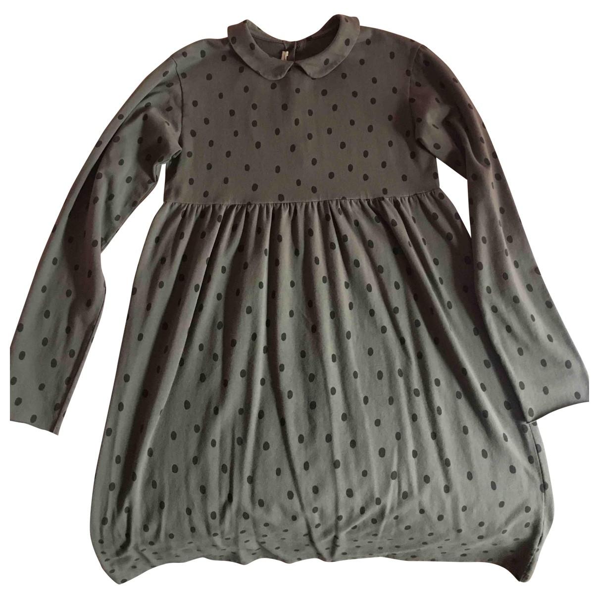 Babe & Tess - Robe    pour enfant en coton - gris