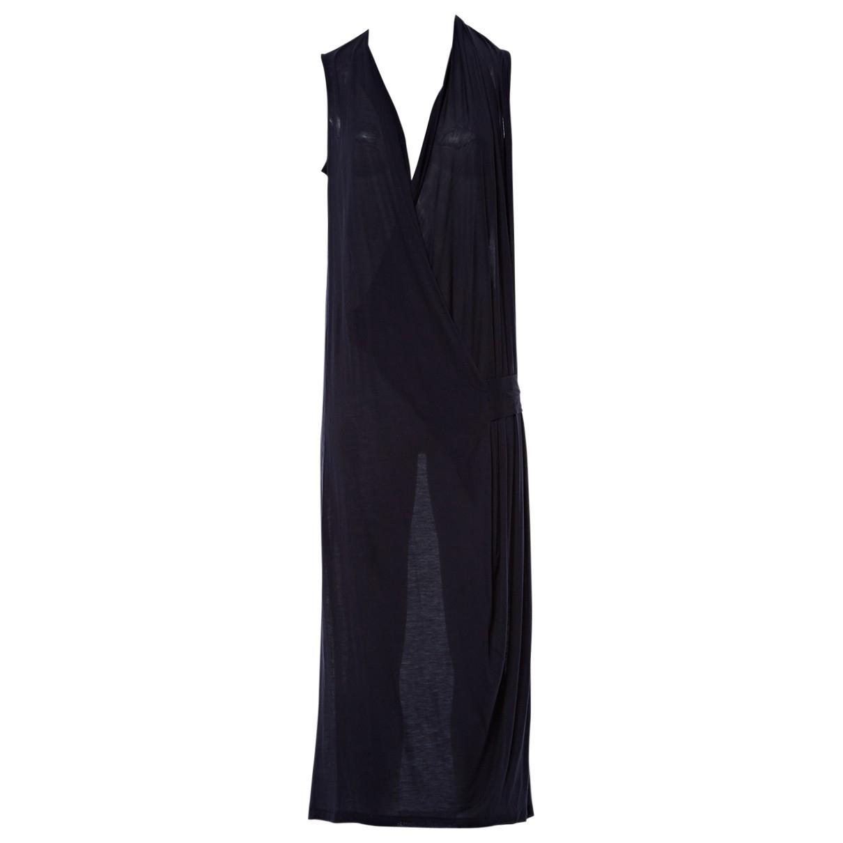 Acne Studios - Robe   pour femme en coton - elasthane - marine
