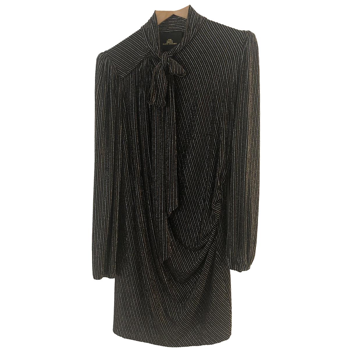 Marc Jacobs \N Kleid in  Metallic Mit Pailletten