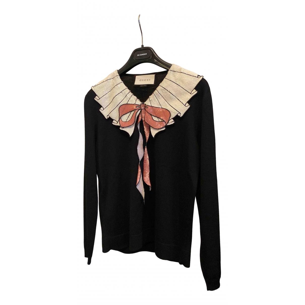 Gucci N Black Wool Knitwear for Women S International
