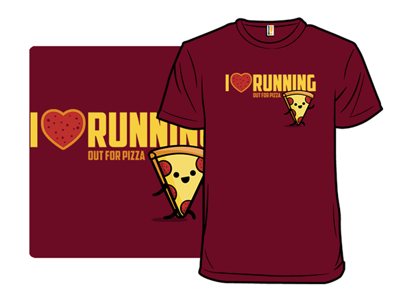 I Heart Running T Shirt