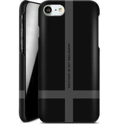 Apple iPhone 8 Smartphone Huelle - TECHNO IS MY RELIGION  von Berlin Techno Collective
