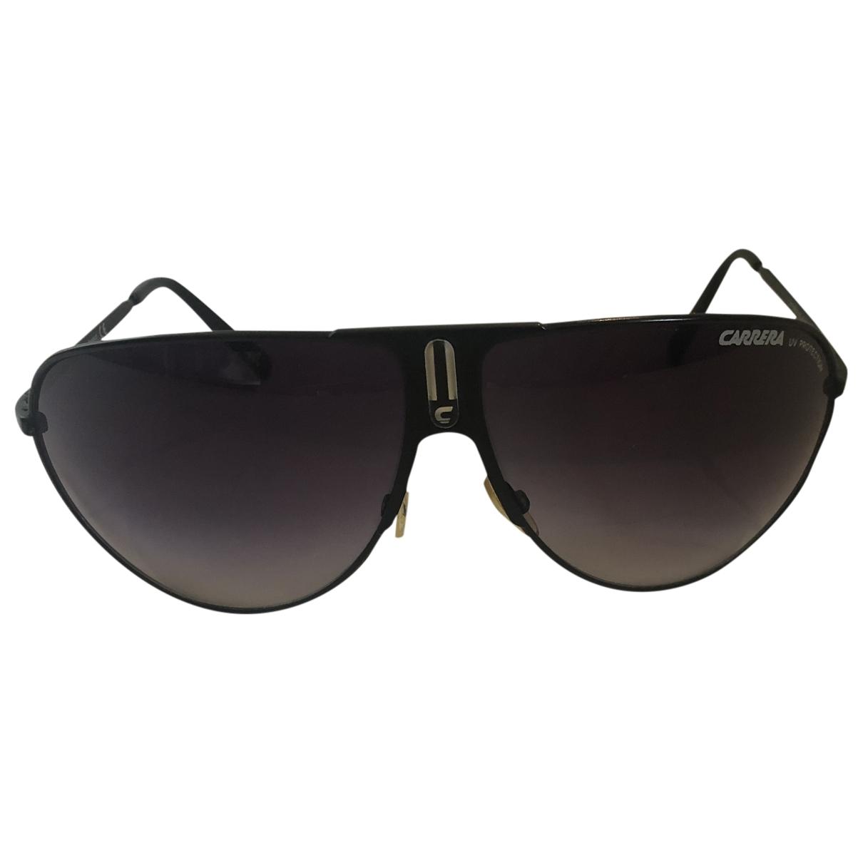 Carrera \N Black Metal Sunglasses for Men \N