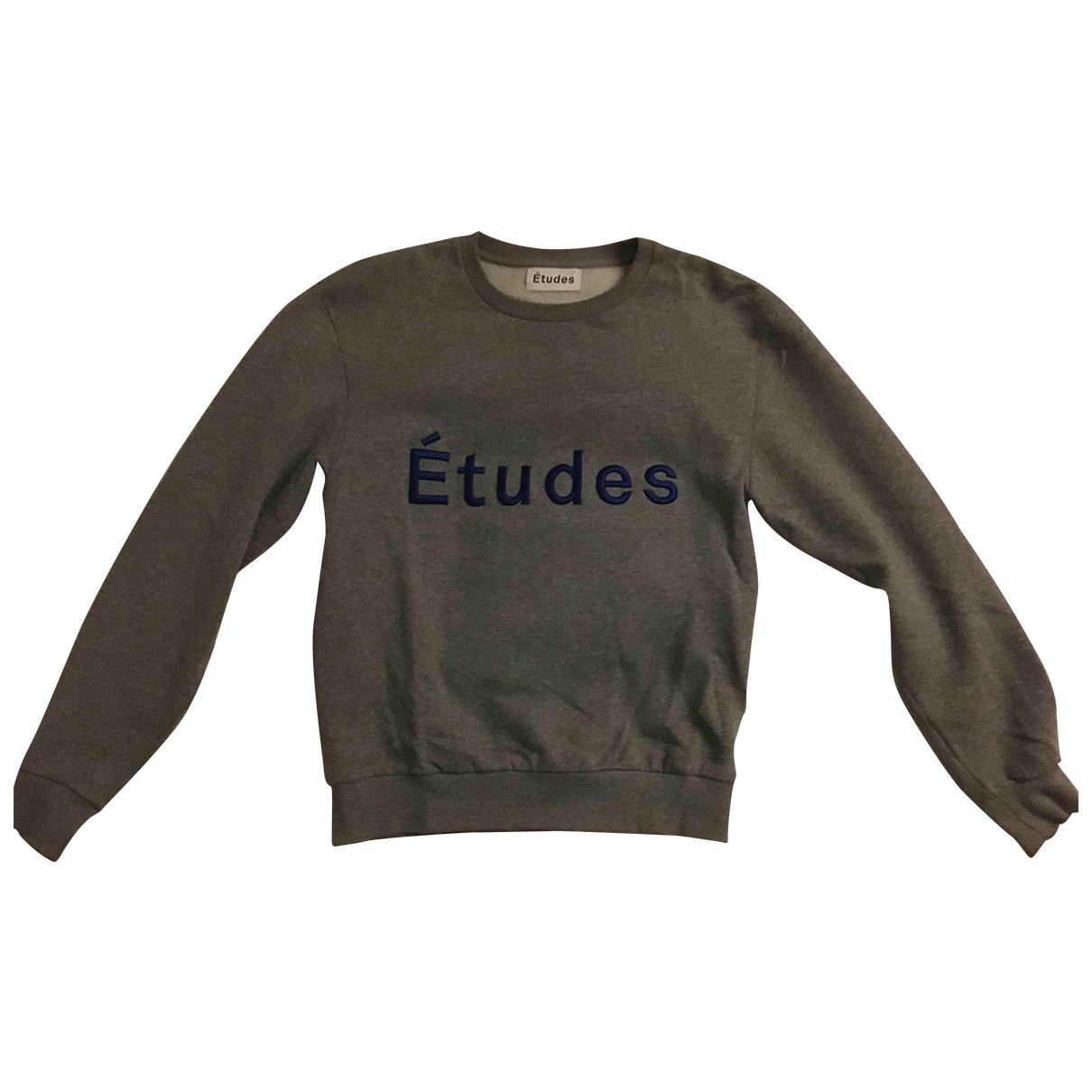 Etudes Studio \N Pullover.Westen.Sweatshirts  in  Grau Baumwolle