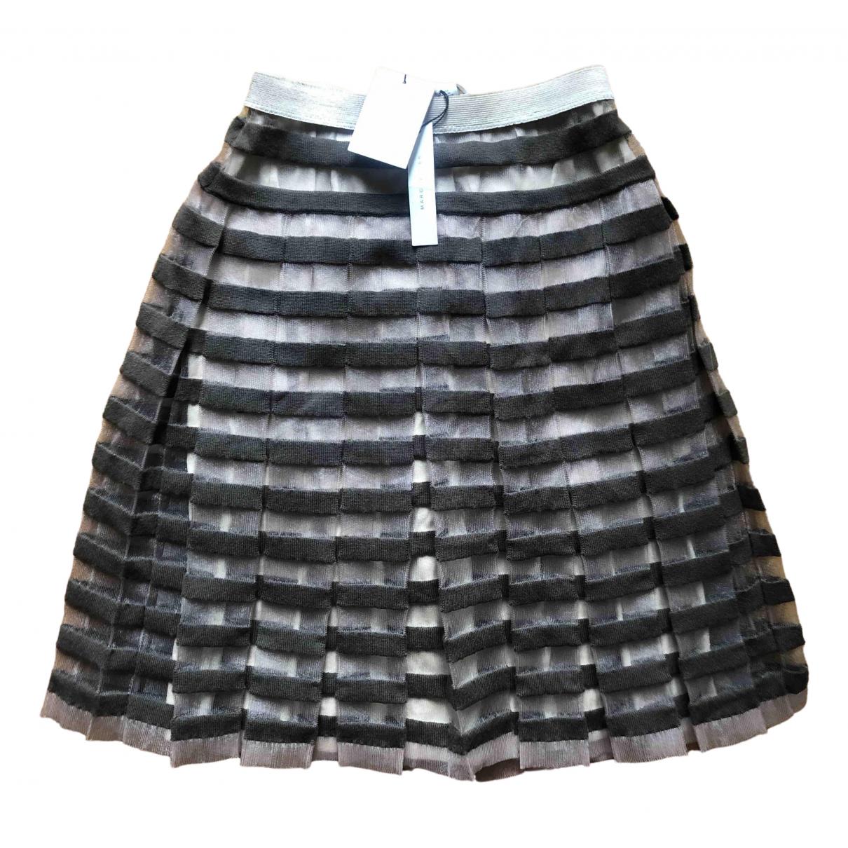 Marc Jacobs - Jupe   pour femme en laine - marron