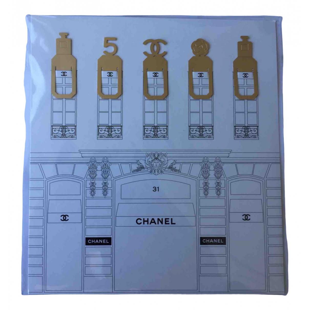 Chanel - Objets & Deco   pour lifestyle en metal - dore