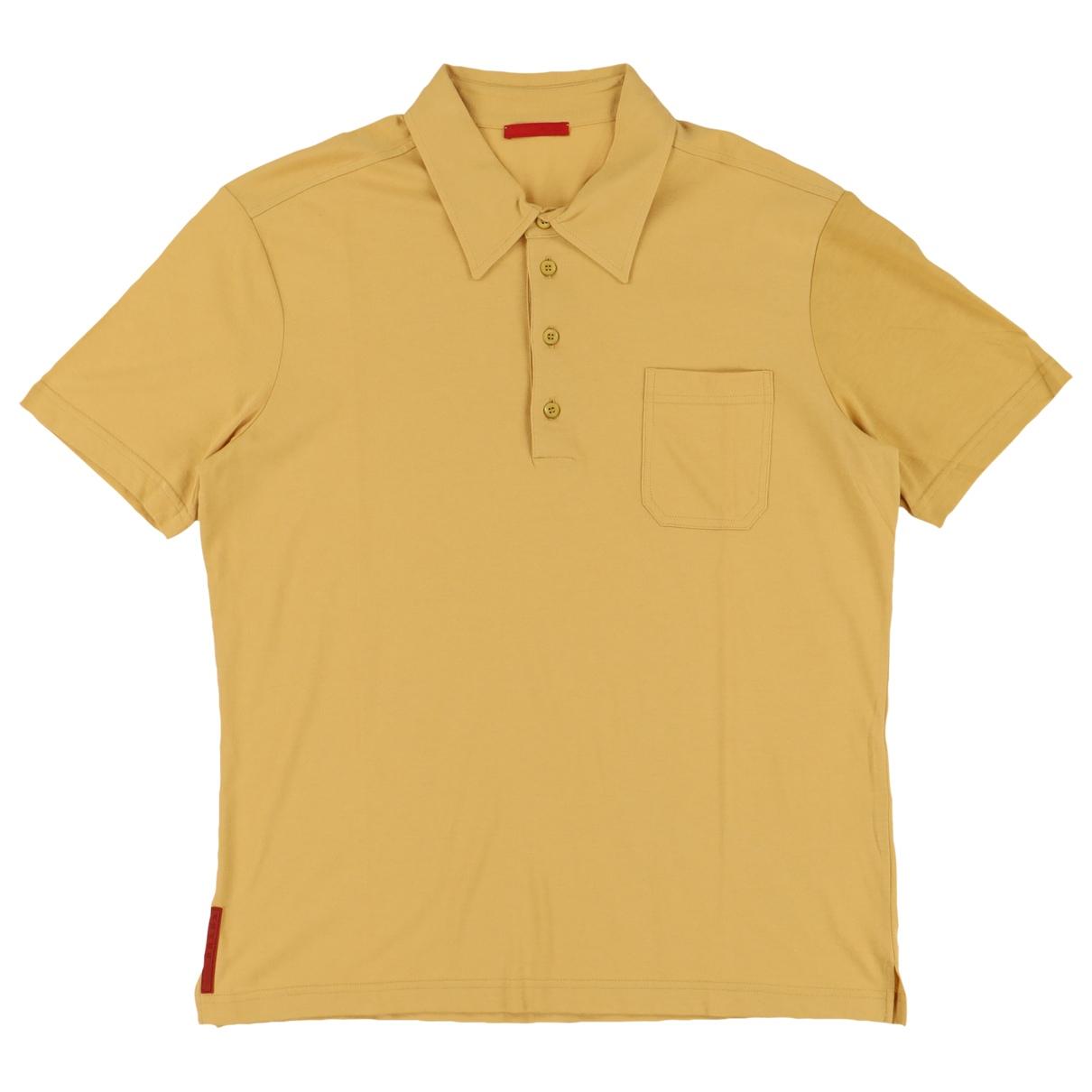 Prada \N Poloshirts in  Gelb Baumwolle