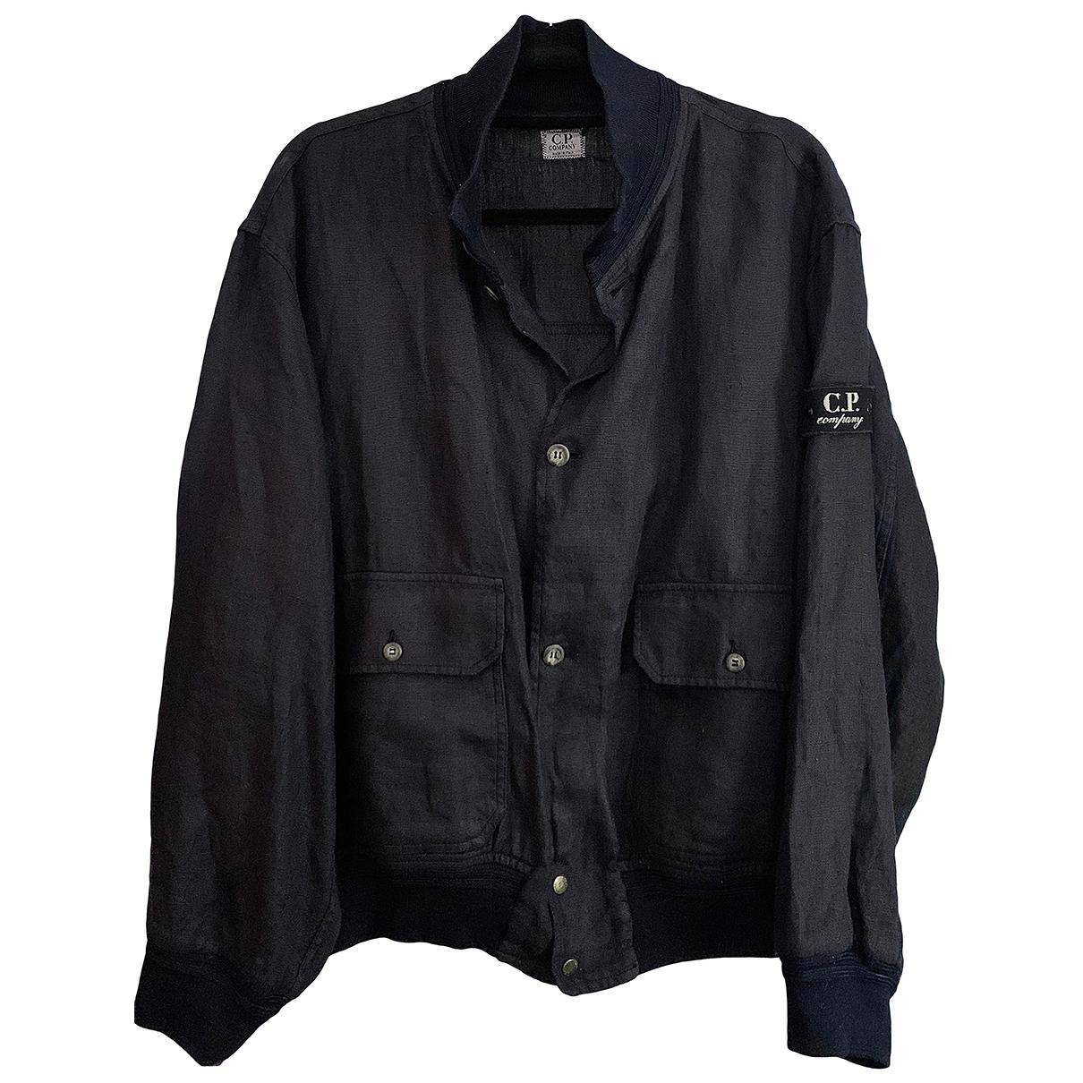 Cp Company \N Navy Linen jacket  for Men M International