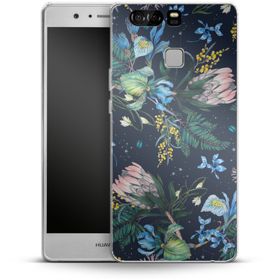 Huawei P9 Silikon Handyhuelle - Celest von Stephanie Breeze