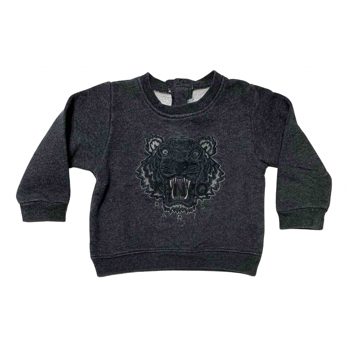 Kenzo N Anthracite Cotton Knitwear for Kids 18 months - up to 81cm FR