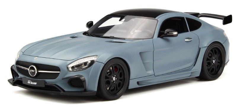 Mercedes Benz SLS FAB Design Areion Matte Gray Limited Edition 1/18 Model Car by GT Spirit for Kyosho