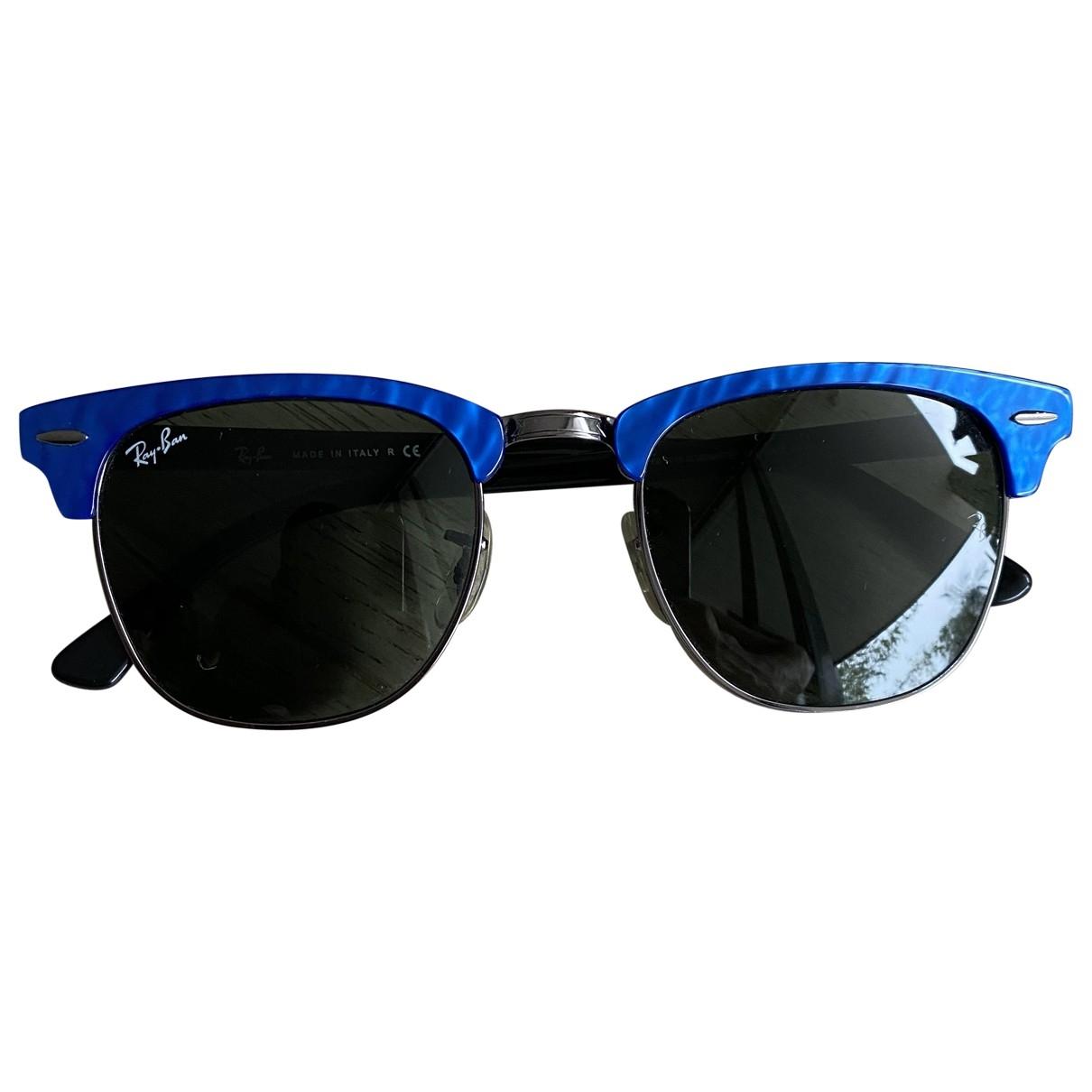 Ray-ban - Lunettes   pour homme en metal - bleu