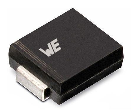 Wurth Elektronik 824540541, Uni-Directional TVS Diode, 1500W, 2-Pin DO-214AB (10)