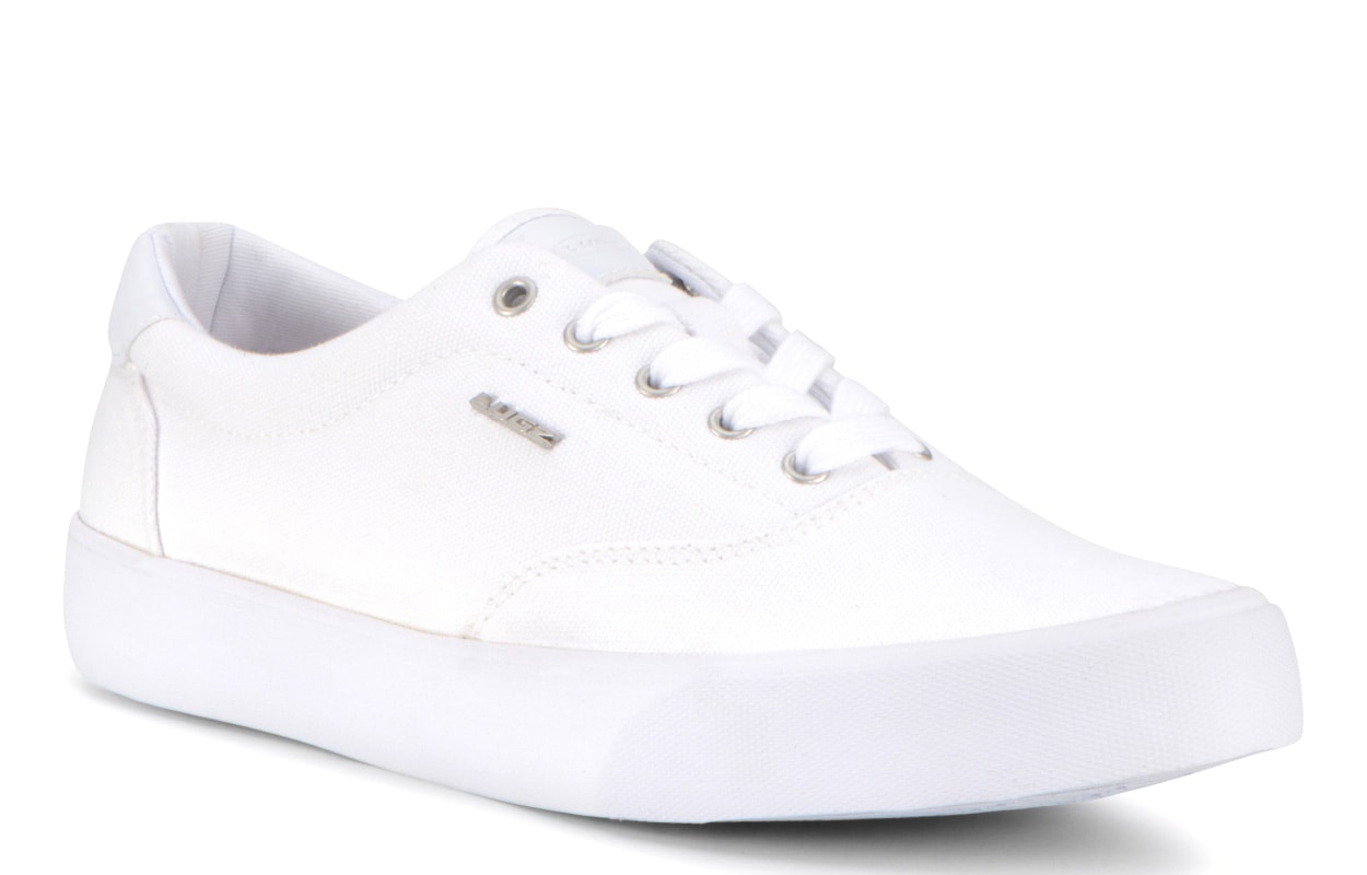 Men's Flip Oxford Sneaker (Choose Your Color: WHITE, Choose Your Size: 10.5)