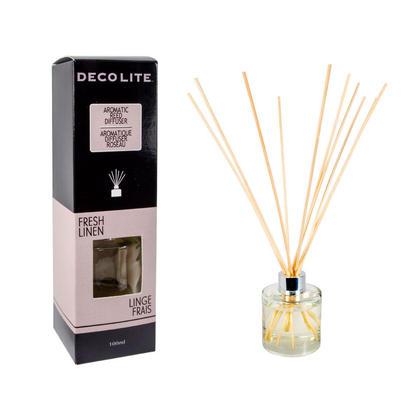 Diffuseur parfumé de Reed, pour l'aromathérapie, parfum frais de la maison 100ml Fresh Linen