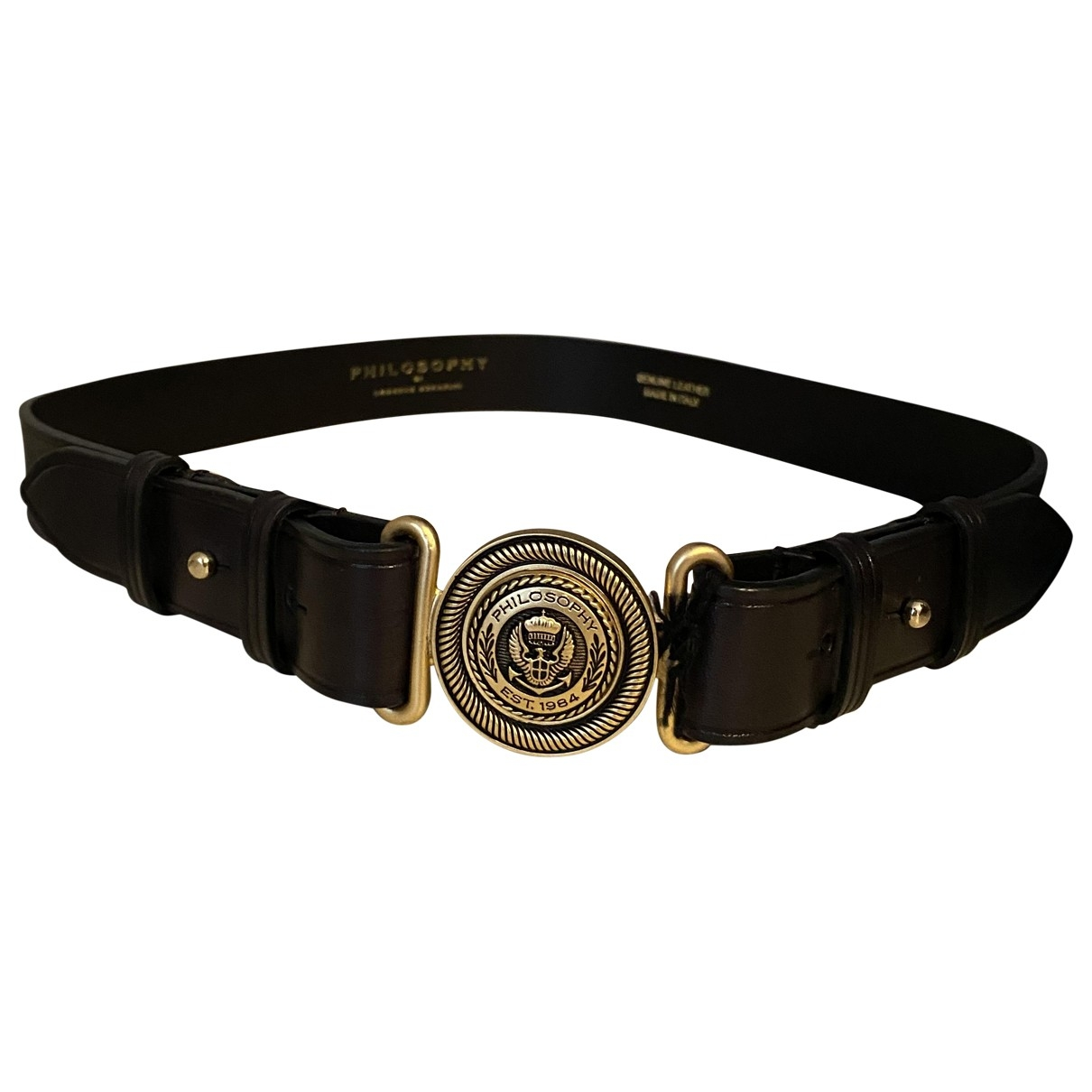 Cinturon de Cuero Philosophy Di Lorenzo Serafini